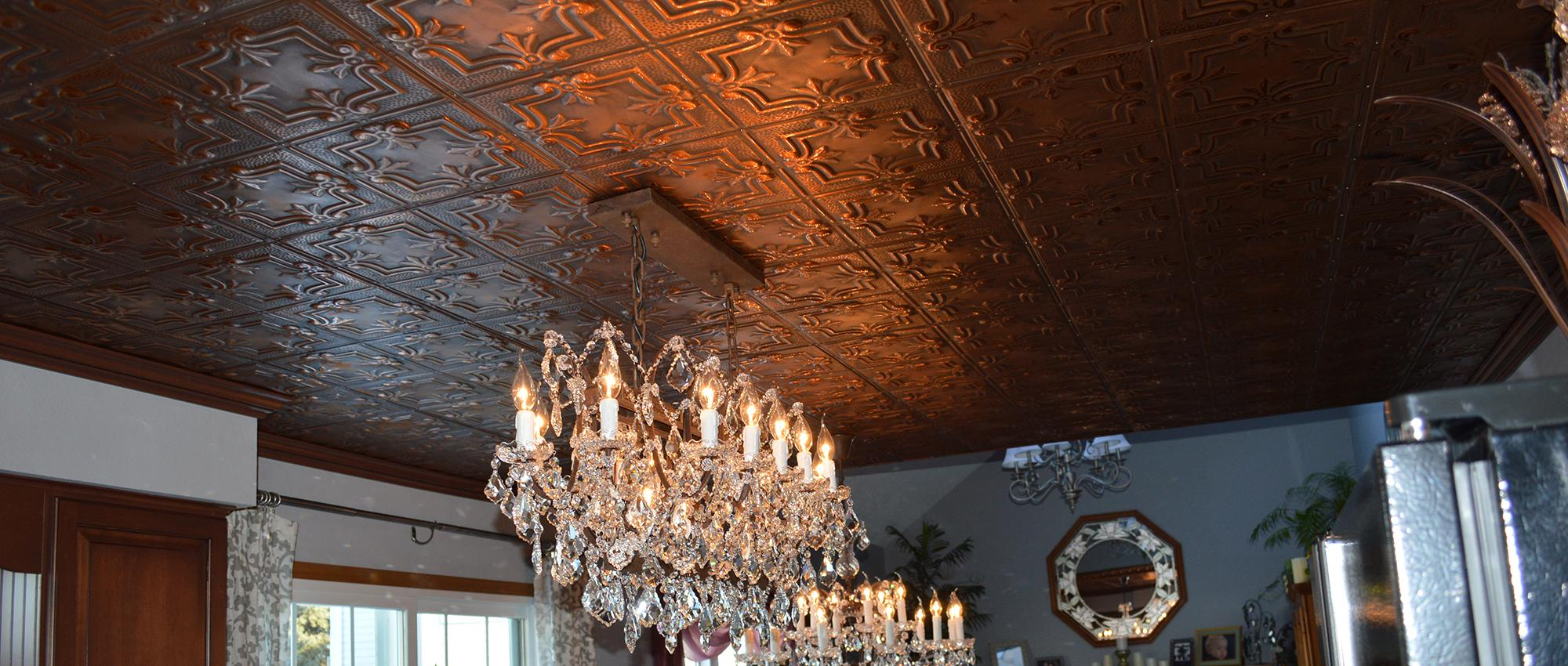 Tin Ceiling Wesson Builders