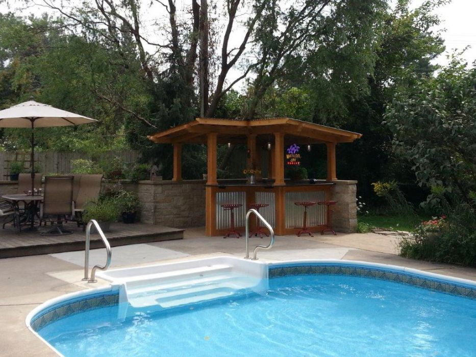 Wesson Builders Project Image - 2015 Poolside Bar