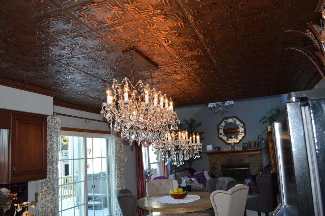 Wesson Builders Project Image - Tin Ceiling