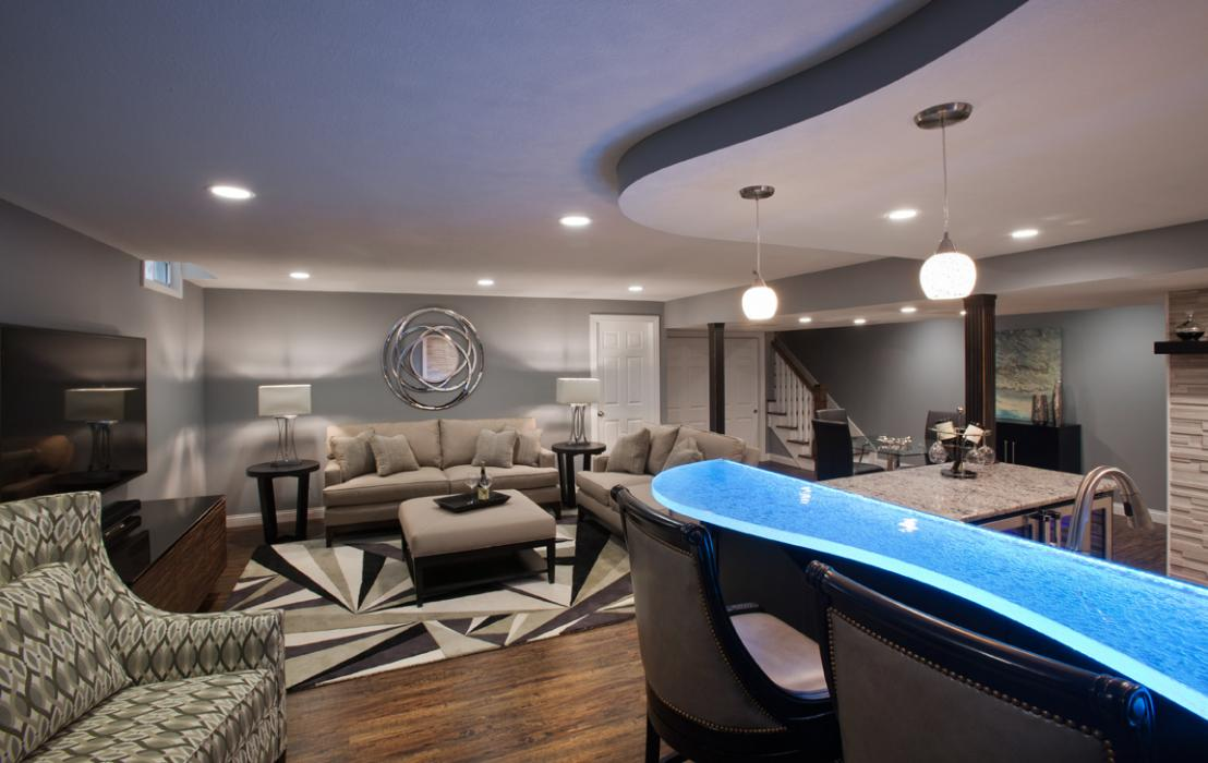 Wesson Builders Project Image - Designer Basement
